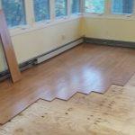 New flooring Installations