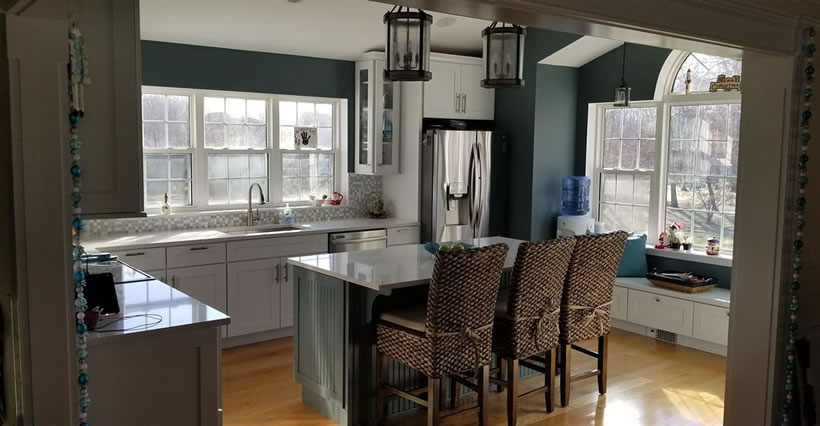 Kitchen Remodeled By Star Remodeling In Orange County New York.
